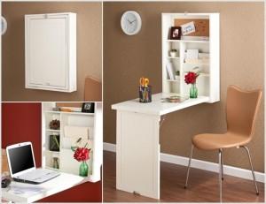 Mobilier bureau petit espace meuble rangement entrée nouveau idée