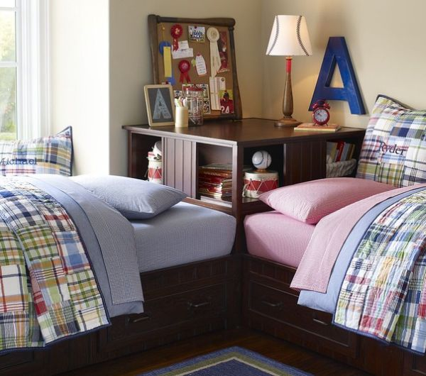 15_idees_chambres_enfants_6 deux lits distincts autre solution possible pour les chambres denfants