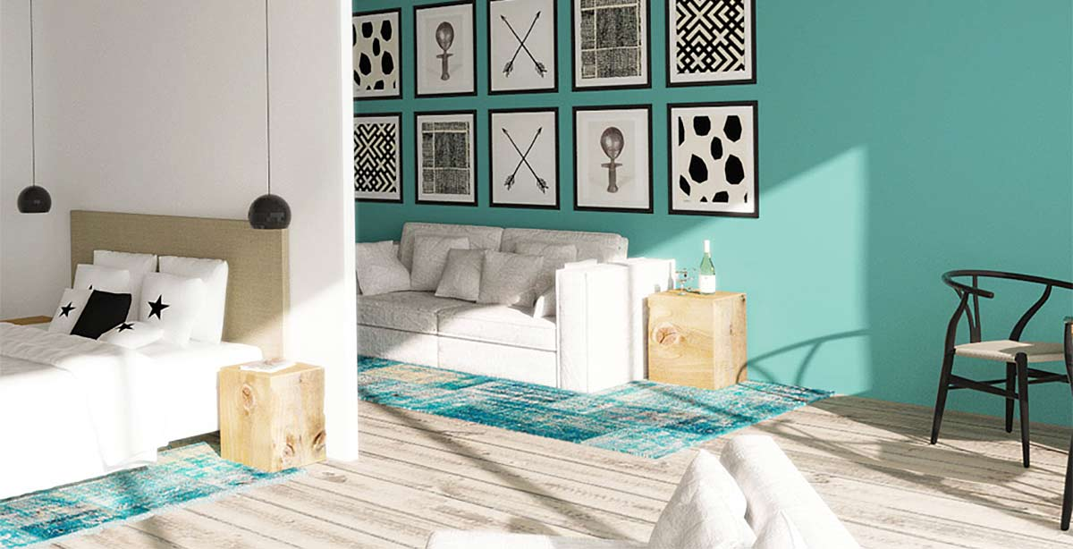 Concevoir un agencement de couleurs pour son int rieur for Photo de decoration interieur
