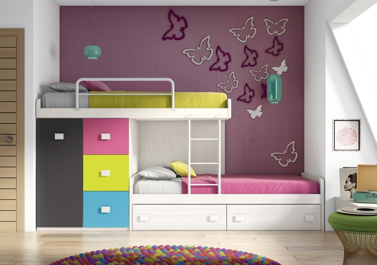 chambre pour deux enfants comment bien l 39 am nager partie 1. Black Bedroom Furniture Sets. Home Design Ideas