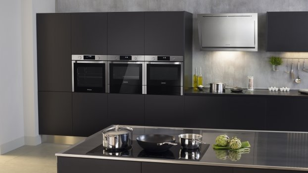 Cuisine moderne cuisine modernes - Four encastrable haut de gamme ...