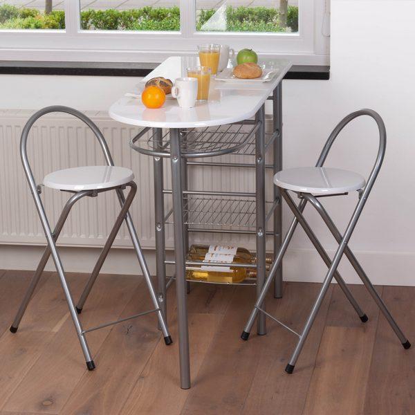 Cr er un coin repas sympa dans une petite cuisine for Petite table pour cuisine