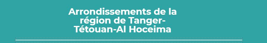 Bannière Région Tanger Tétouan